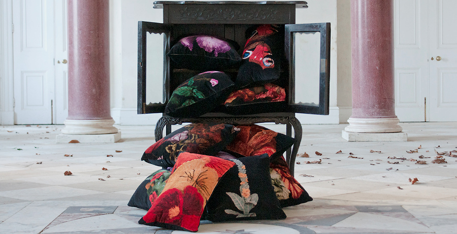 Cushions in woodburner