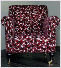 Butterflies Armchair (Grey)